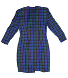 Plaid Secretary Dress 4