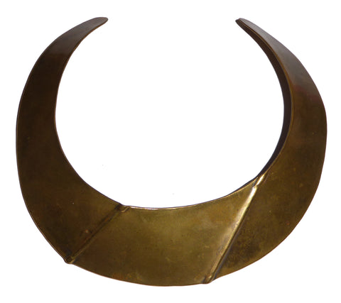 Bronze Cuff Necklace