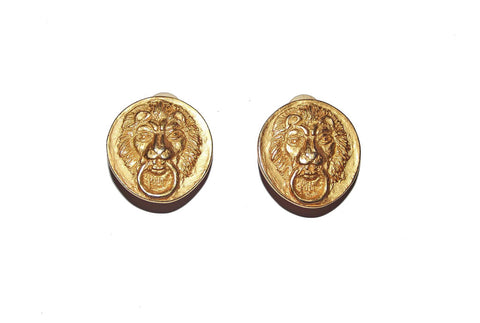 Lion Knocker Earrings