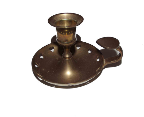 Antique Bronze Candle Holder