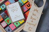 Personalised Baby door sign