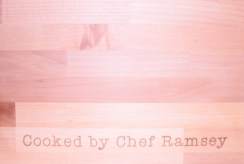 Personalised Chef Chopping Board