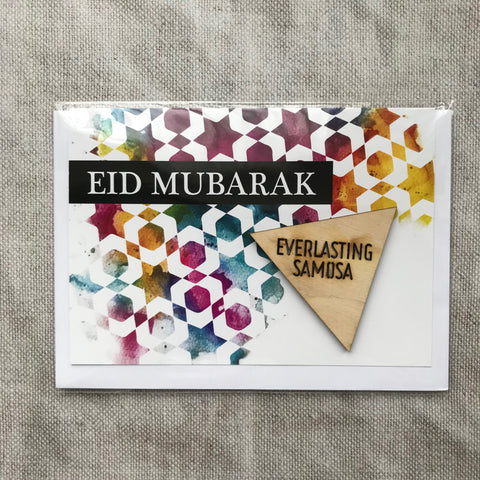 Everlasting Samosa Eid Card