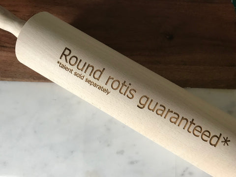 Round Rotis Guaranteed, Rolling Pin