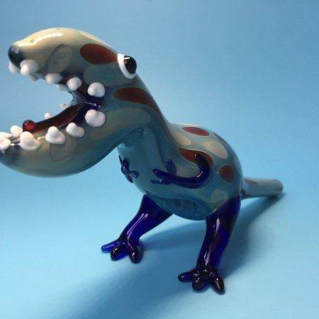 "7.5"" Dinosaur Spoon Pipe"