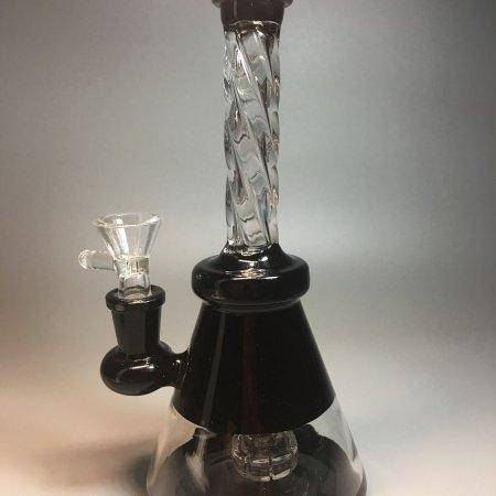 Black Glass Bong Glass Smoking Pipes Water Bongs Pineapple Water Pipes hookah