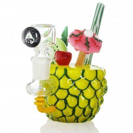 Empire Glassworks Pineapple Paradise Mini Rig Water Pipe