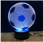3 Color Soccer Lamp!