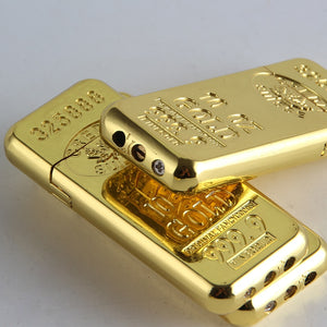 Gold Bullion Cigarette Lighter