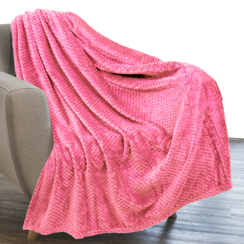 Jacquard Flannel Fleece Blanket