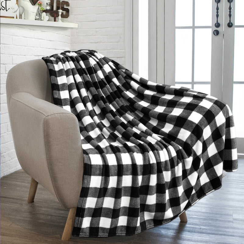 Checkered Fleece Blanket