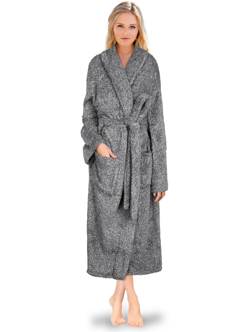 Women's Sherpa Fluffy Robe