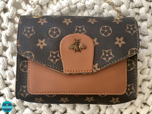 Bee Mine Handbag Brown