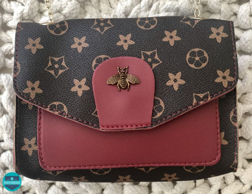 Bee Mine Handbag Cranberry