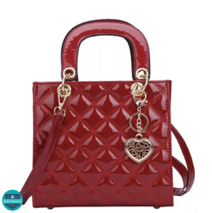 Brigitte - Red Tote Handbag