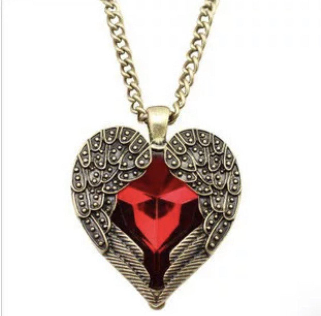 Eevie's Dragon Wing Heart Necklace,addison-s-addictions-handbags-accessories-2