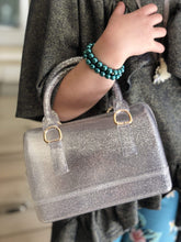 Load image into Gallery viewer, Gwen Handbag - Silver Glitter,addison-s-addictions-handbags-accessories-2