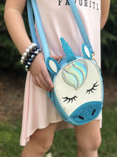 Load image into Gallery viewer, Mystic Unicorn Handbag - Blue,addison-s-addictions-handbags-accessories-2