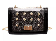 Load image into Gallery viewer, Oh My Stars - Black,addison-s-addictions-handbags-accessories-2