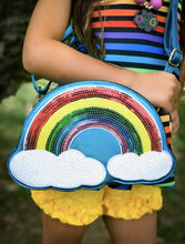 Load image into Gallery viewer, Over The Rainbow Handbag - Blue,addison-s-addictions-handbags-accessories-2