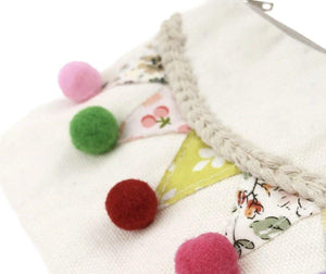 Pom Pom Fiesta Coin Purse -Ivory,addison-s-addictions-handbags-accessories-2