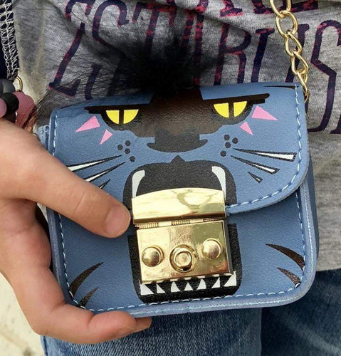 Predator Handbag - Blue,addison-s-addictions-handbags-accessories-2