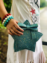 Load image into Gallery viewer, Star - Blue Glitter,addison-s-addictions-handbags-accessories-2