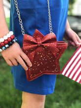 Load image into Gallery viewer, Star - Red Glitter,addison-s-addictions-handbags-accessories-2