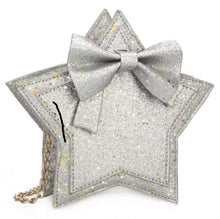 Load image into Gallery viewer, Star - Silver Sparkle,addison-s-addictions-handbags-accessories-2