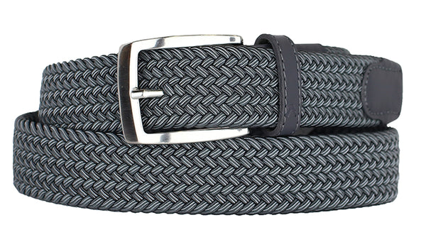 ALBERTO BRAIDED MULT GREY/GREY STRETCH