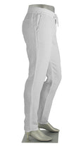 Linen Draw String Pant White