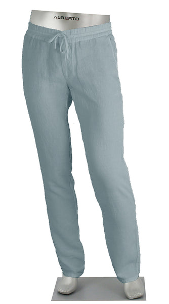Linen Draw String Pant Teal