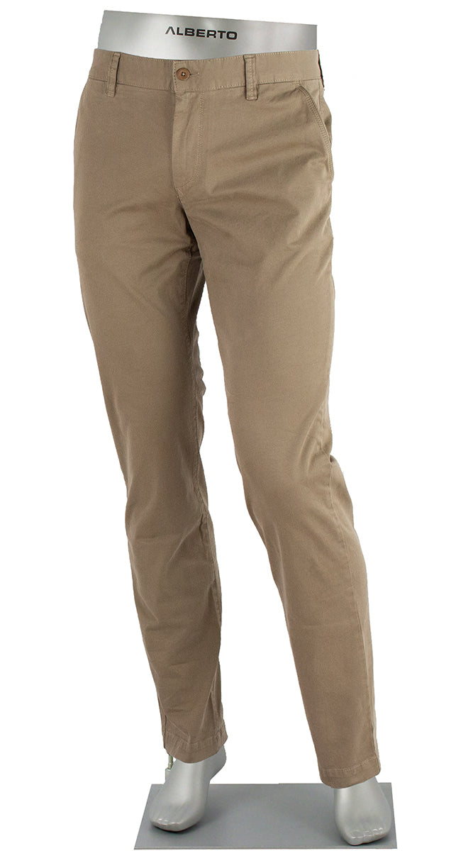 LOU COTTON STRETCH PANT KHAKI