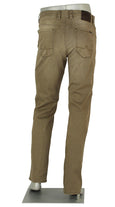 ALBERTO JEANS PIPE DENIM SUPER STRETCH CAMEL P1687-540 1687 KHAKI