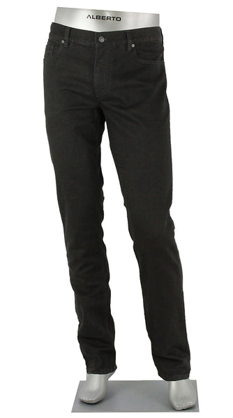 ALBERTO DENIM PIPE T400 BLACK JEANS 1471