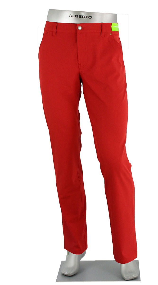 ALBERTO GOLF 3X DRY PANT RED 5535