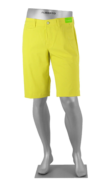 ALBERTO GOLF 3X DRY SHORTS YELLOW
