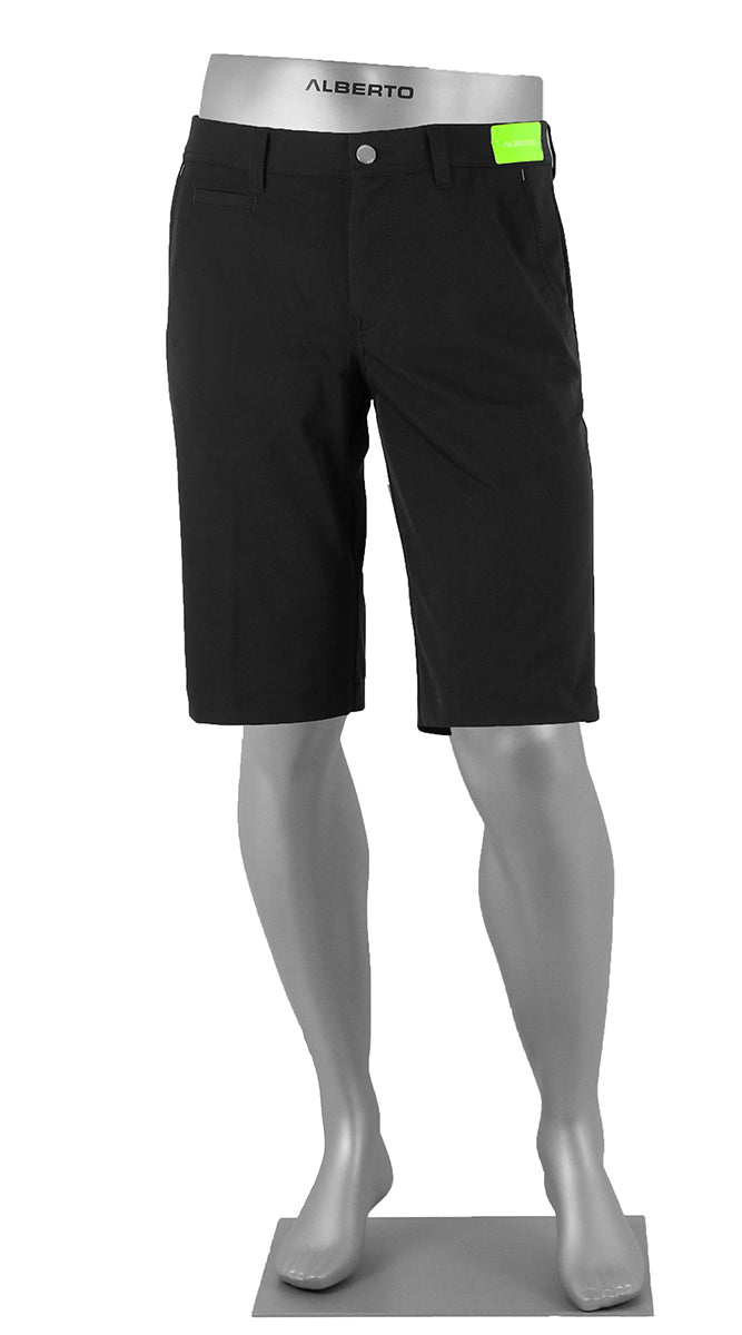 ALBERTO GOLF 3X DRY MASTER SHORTS BLACK 5535