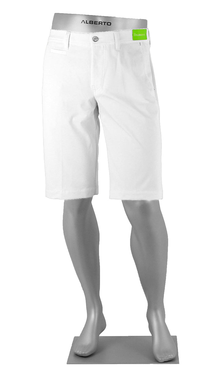 ALBERTO GOLF 3X DRY MASTER SHORTS WHITE 5535