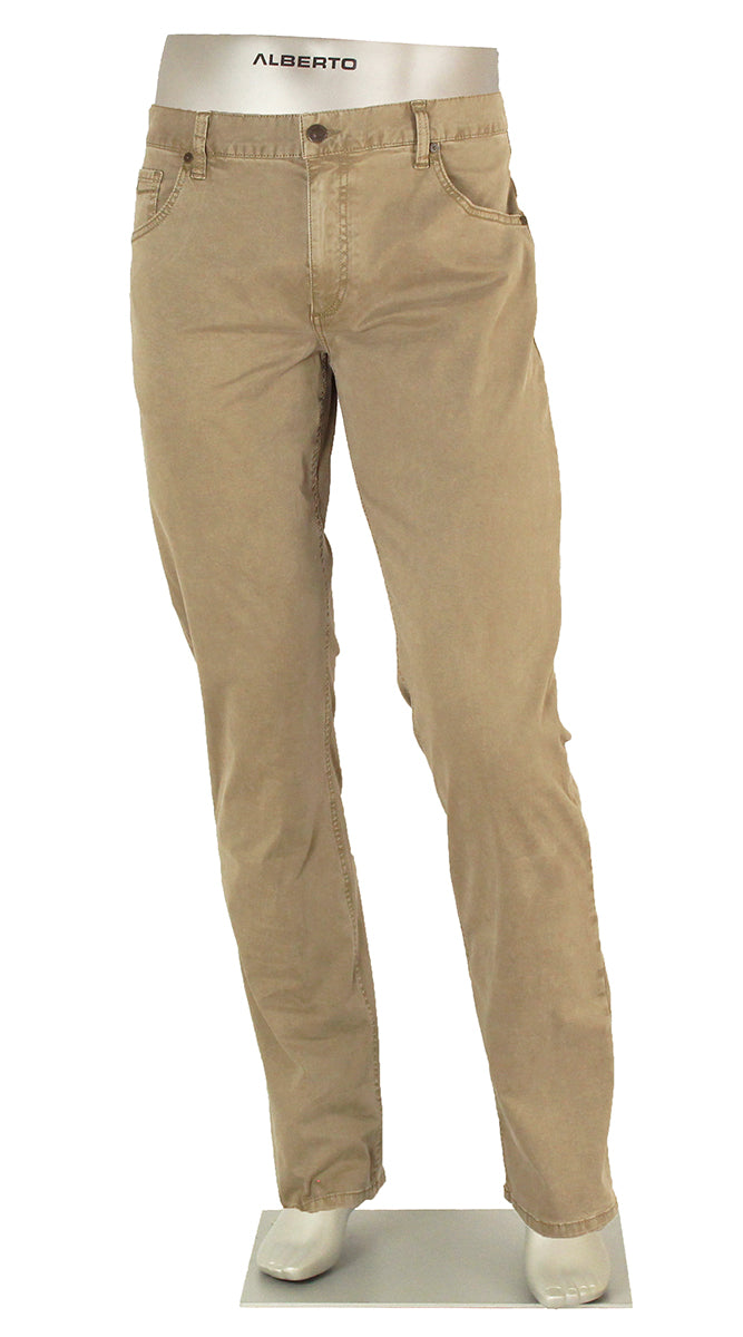 ALBERTO JEANS STONE SUPER STRETCH COTTON KHAKI ST1503-530