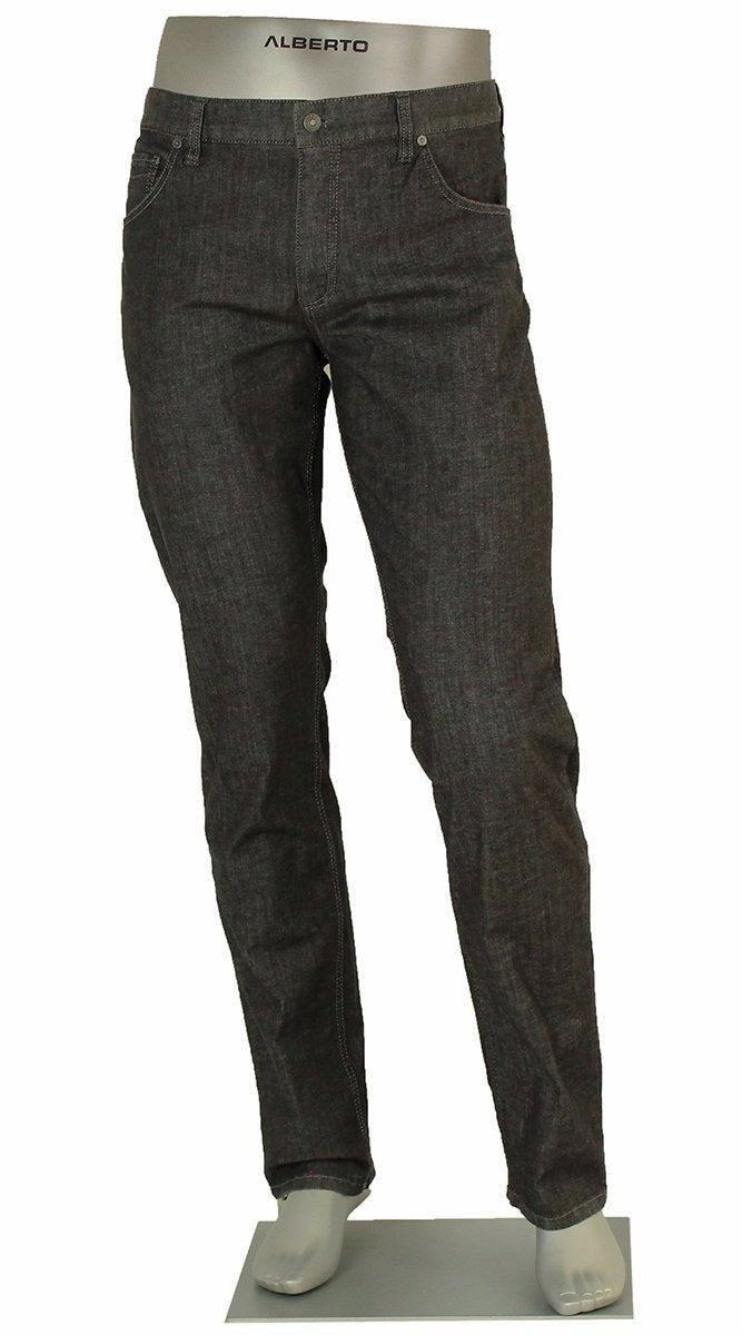 ALBERTO JEANS DENIM STONE LIGHT WEIGHT BLACK 1574