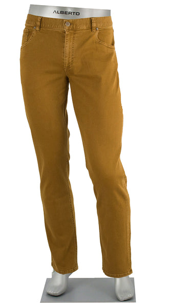ALBERTO JEANS STONE SUPER STRETCH COLORED DENIM COPPER ST1688-380 1688