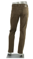 ALBERTO JEANS STONE SUPER STRETCH COLORED DENIM BROWN ST1688-580 1688