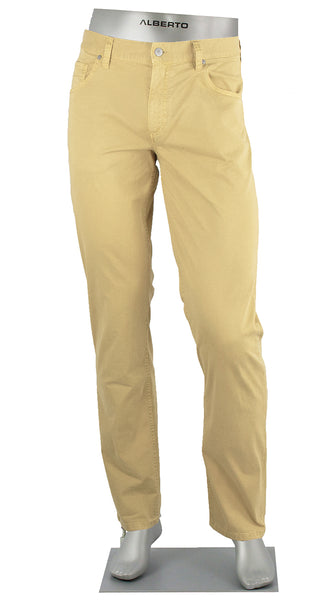 STONE SUPER STRETCH COTTON YELLOW