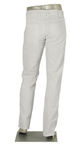 ALBERTO JEANS PIPE DENIM T400 LIGHT WEIGHT WHITE P1975-100 1975