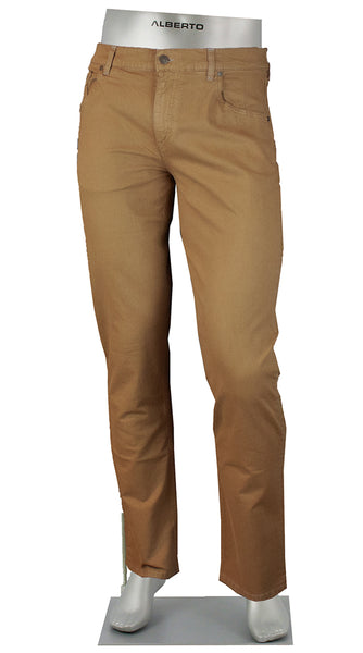 STONE COTTON/LINEN 4 WAY STRETCH KHAKI