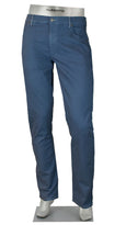 STONE COTTON/LINEN 4 WAY STRETCH BLUE