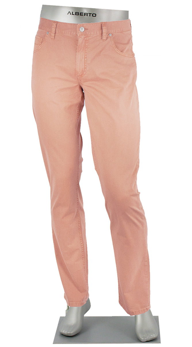 STONE SUPER STRETCH COTTON CORAL