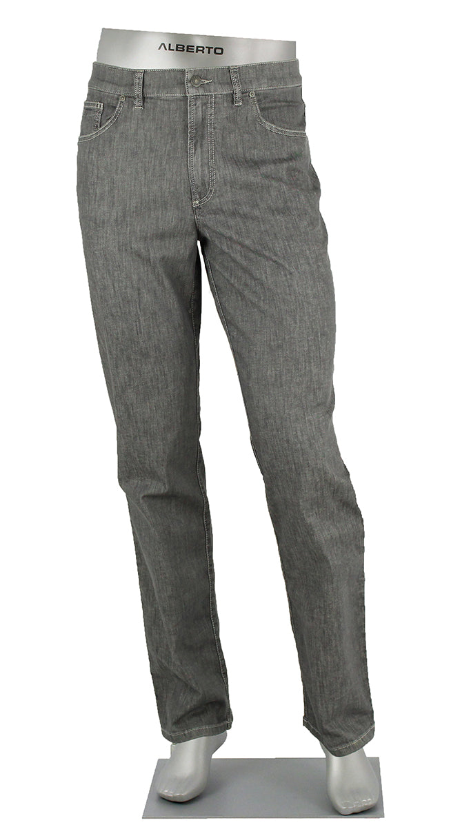 ALBERTO JEANS TOMMY DENIM LIGHT WEIGHT GREY COMFORT FIT T1974-980