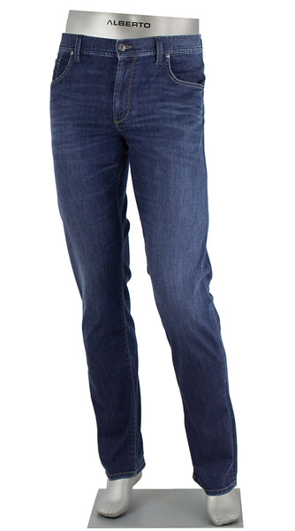 PIPE DENIM SUPER STRETCH DARK INDIGO